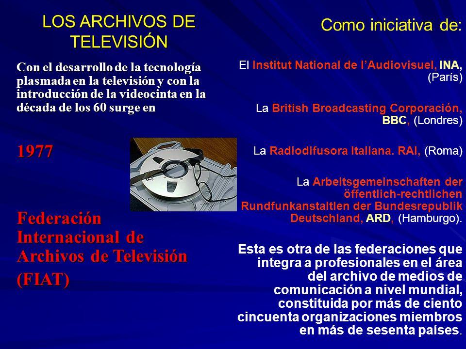 LOS ARCHIVOS DE TELEVISIÓN