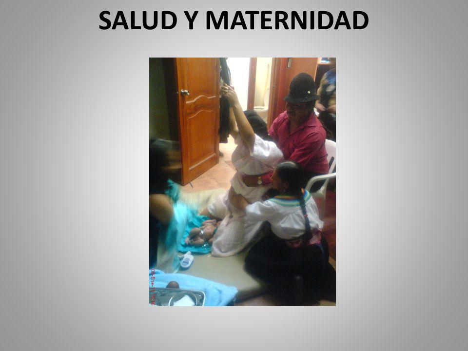 SALUD Y MATERNIDAD
