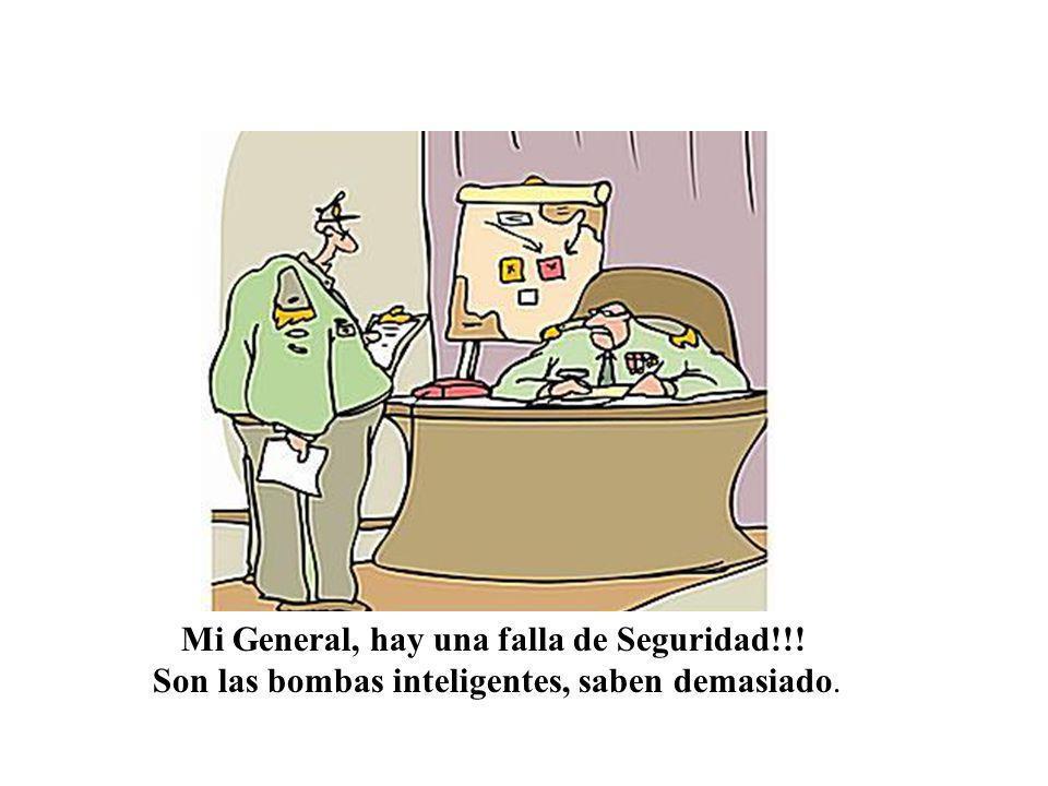 Mi General, hay una falla de Seguridad!!!