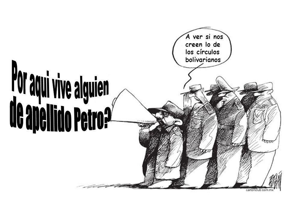 Por aqui vive alguien de apellido Petro