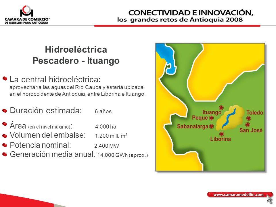 Hidroeléctrica Pescadero - Ituango