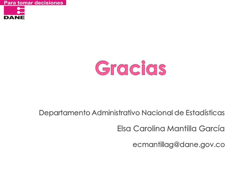 Gracias Elsa Carolina Mantilla García