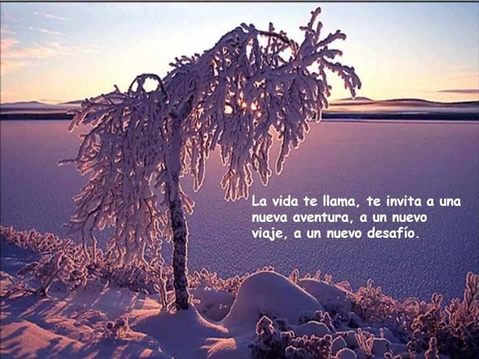La vida te llama, te invita a una nueva aventura, a un nuevo viaje, a un nuevo desafío.