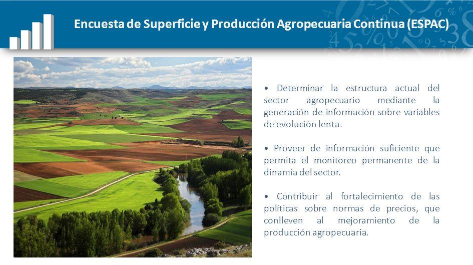Encuesta de Superficie y Producción Agropecuaria Continua (ESPAC)