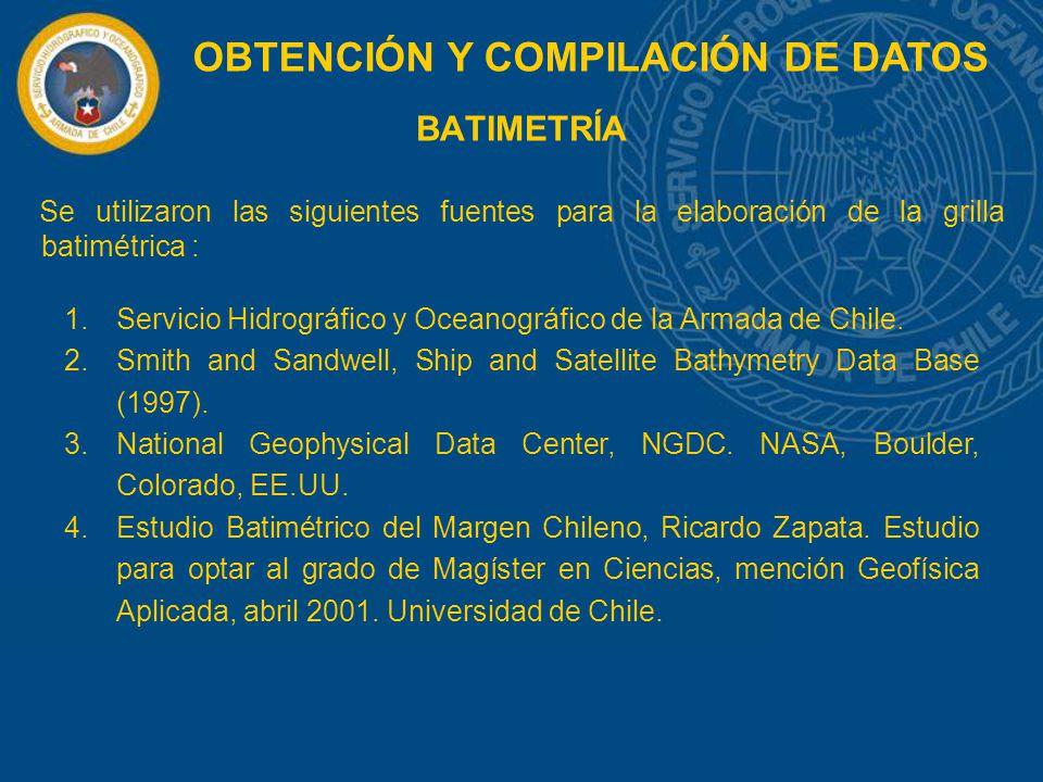 OBTENCIÓN Y COMPILACIÓN DE DATOS