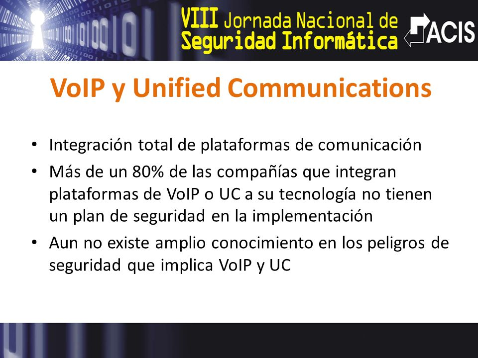 VoIP y Unified Communications
