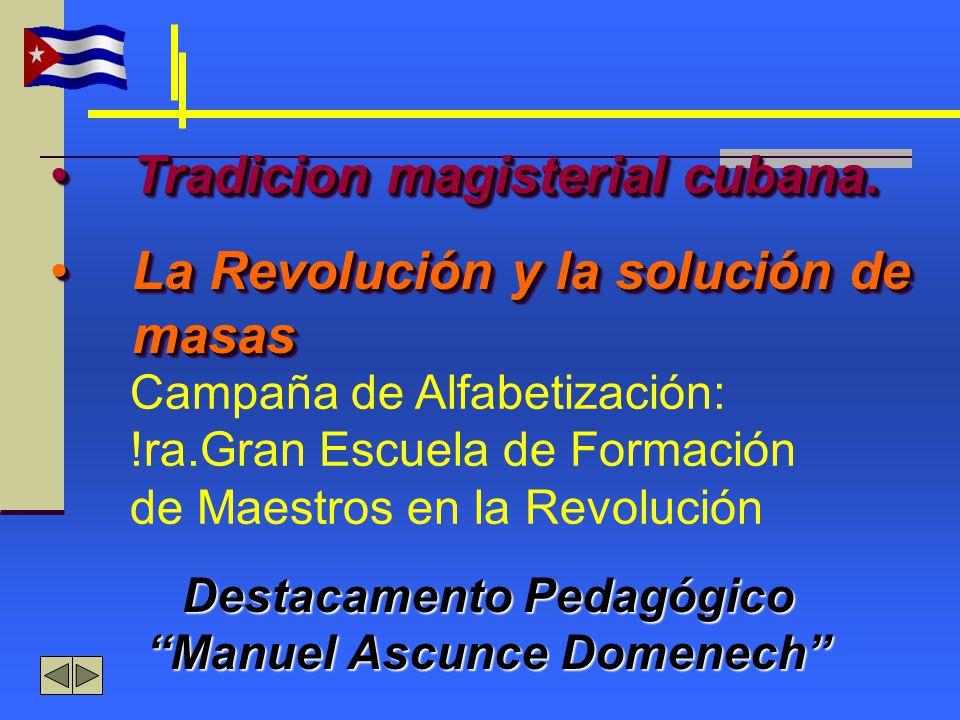 Destacamento Pedagógico Manuel Ascunce Domenech