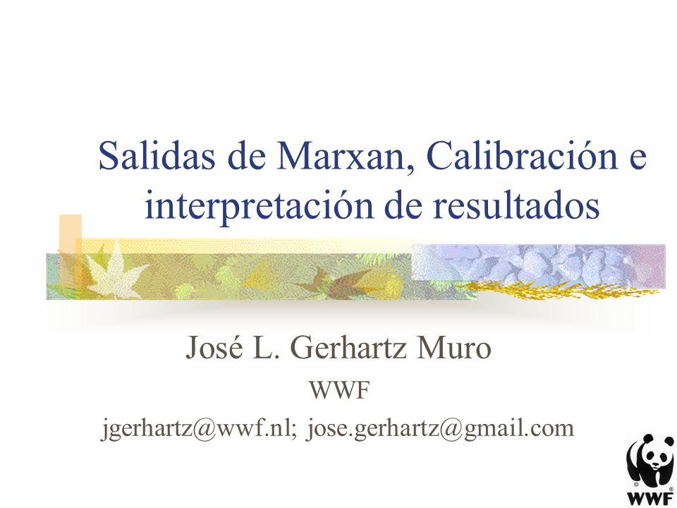 Salidas de Marxan, Calibración e interpretación de resultados