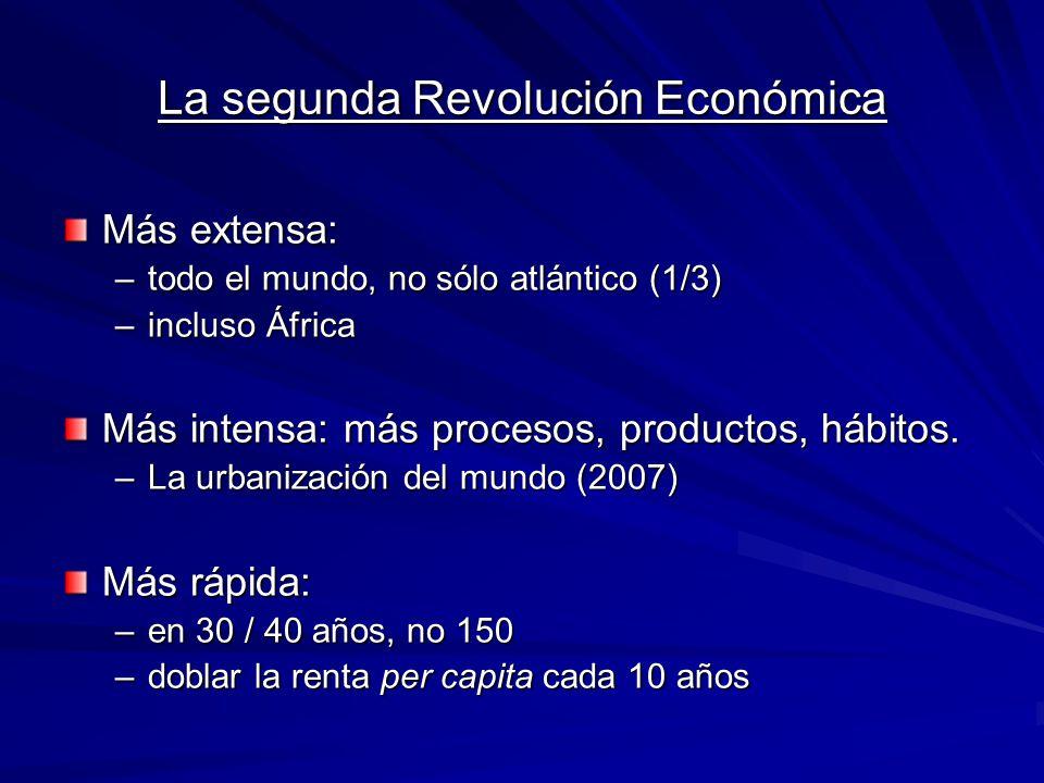 La segunda Revolución Económica