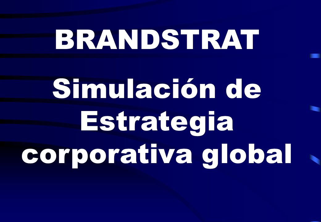 Simulación de Estrategia corporativa global