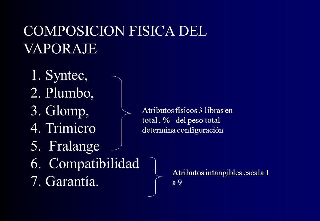 COMPOSICION FISICA DEL VAPORAJE
