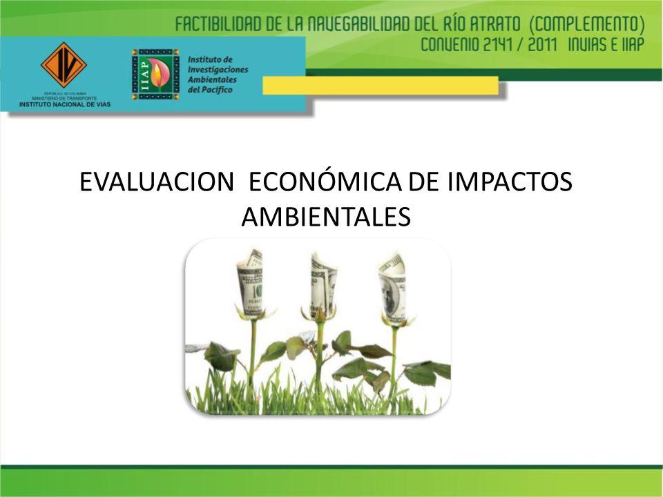 EVALUACION ECONÓMICA DE IMPACTOS AMBIENTALES