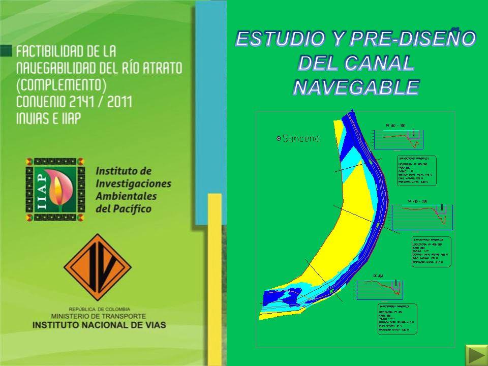 ESTUDIO Y PRE-DISEÑO DEL CANAL