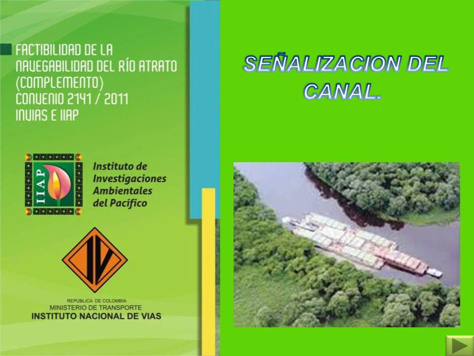 SEÑALIZACION DEL CANAL.