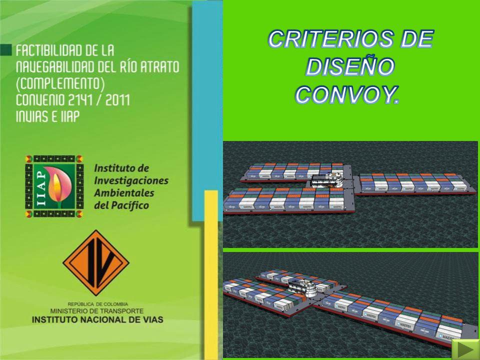 CRITERIOS DE DISEÑO CONVOY.