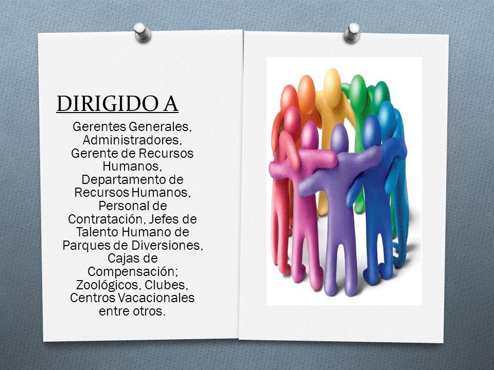 DIRIGIDO A