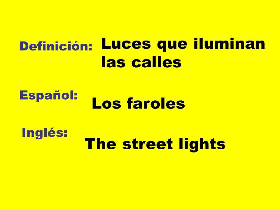 Luces que iluminan las calles