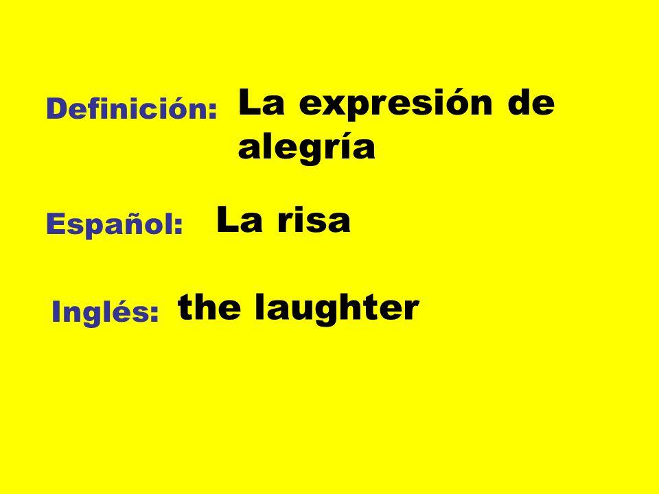 La expresión de alegría