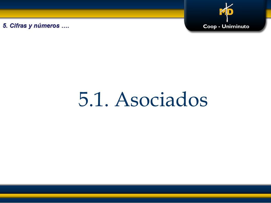 5. Cifras y números …. 5.1. Asociados