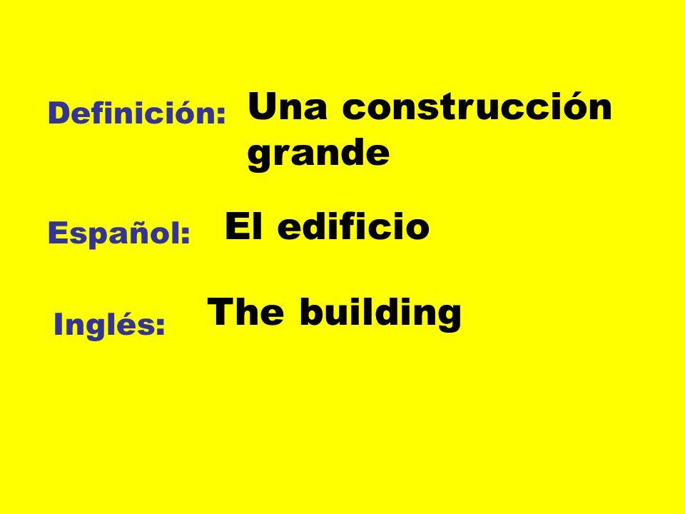 Una construcción grande