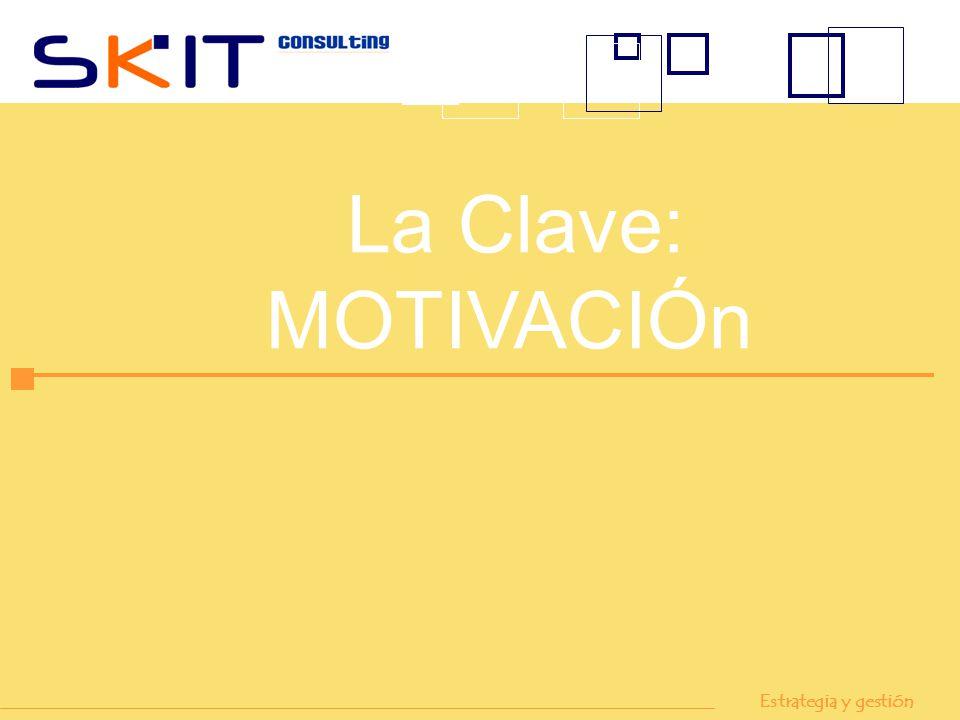 La Clave: MOTIVACIÓn Estrategia y gestión