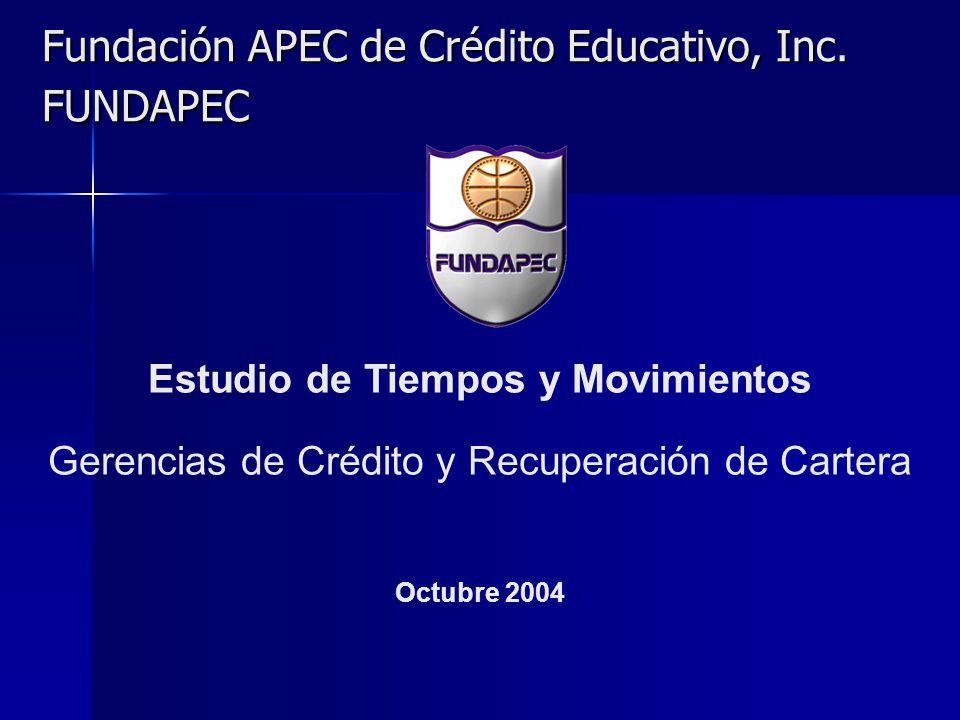 Fundación APEC de Crédito Educativo, Inc. FUNDAPEC