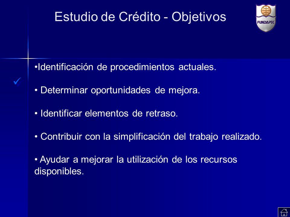 Estudio de Crédito - Objetivos