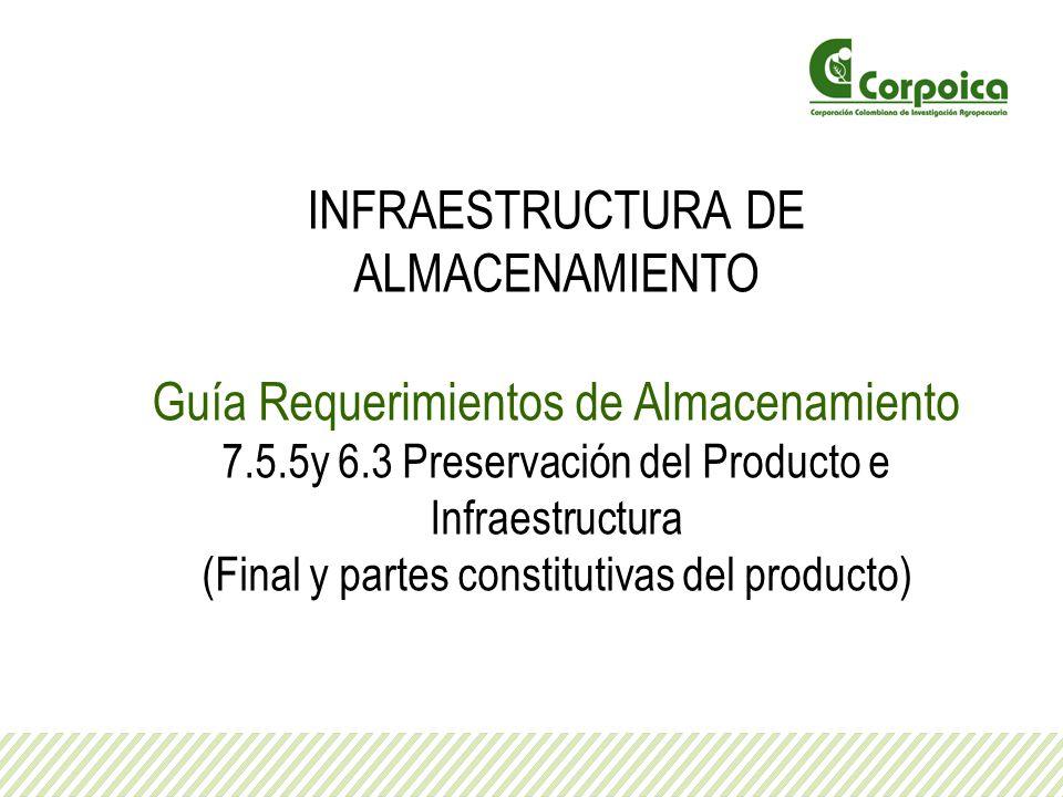 INFRAESTRUCTURA DE ALMACENAMIENTO