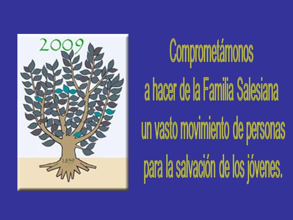 a hacer de la Familia Salesiana un vasto movimiento de personas