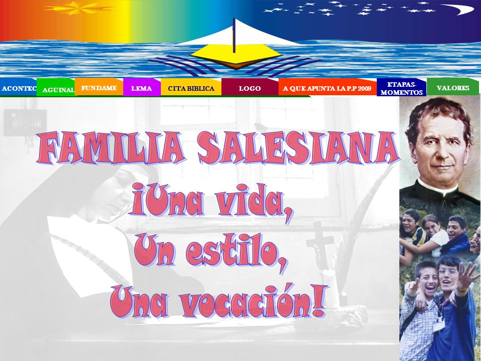EL PROYECTO EDUCATIVO - PASTORAL SALESIANO (PEPS)