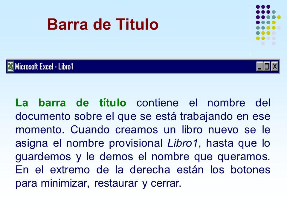 Barra de Titulo