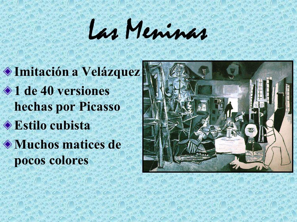 Las Meninas Imitación a Velázquez 1 de 40 versiones hechas por Picasso