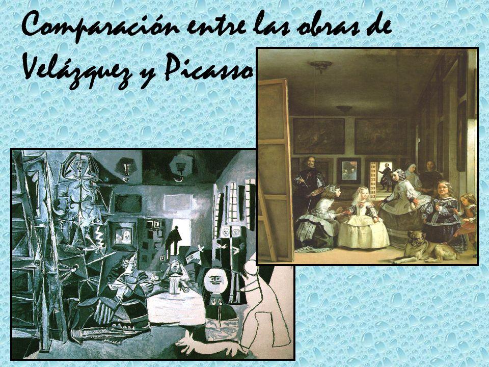 Comparación entre las obras de Velázquez y Picasso