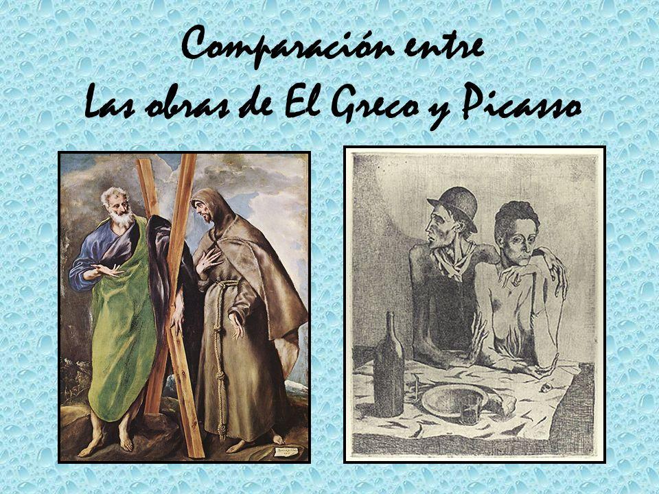 Las obras de El Greco y Picasso