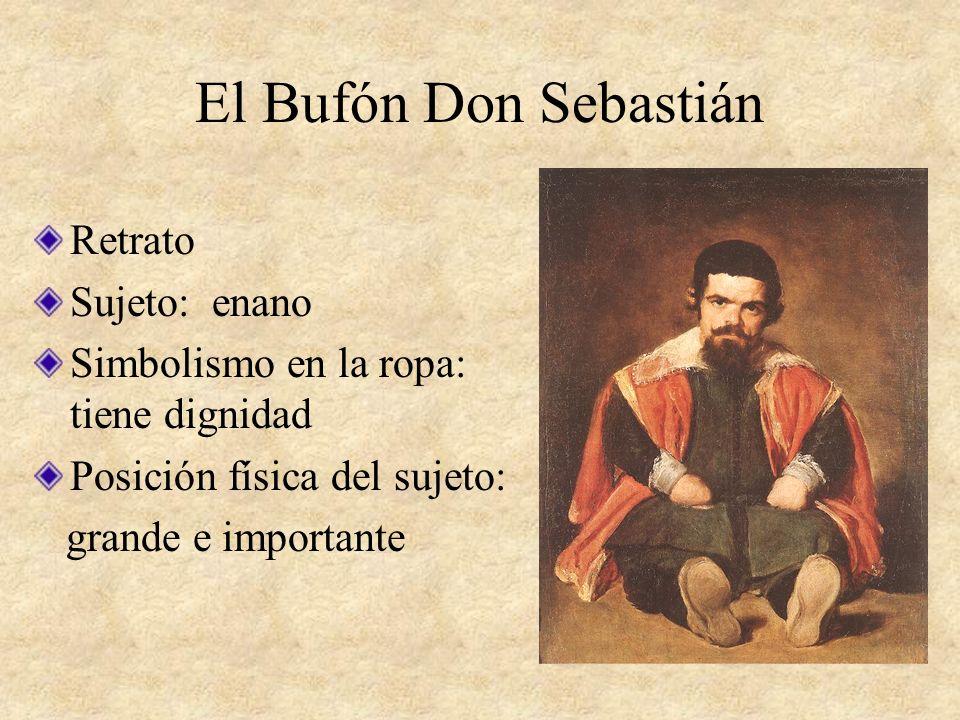El Bufón Don Sebastián Retrato Sujeto: enano