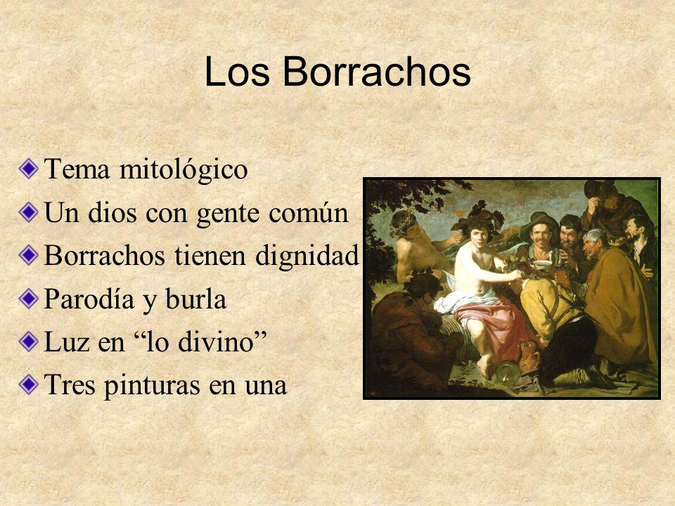 Los Borrachos Tema mitológico Un dios con gente común
