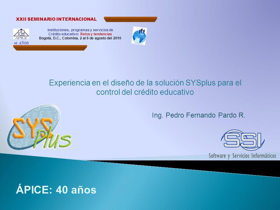 Bogotá, D.C., Colombia, 2 al 6 de agosto del 2010