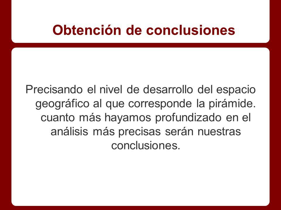 Obtención de conclusiones