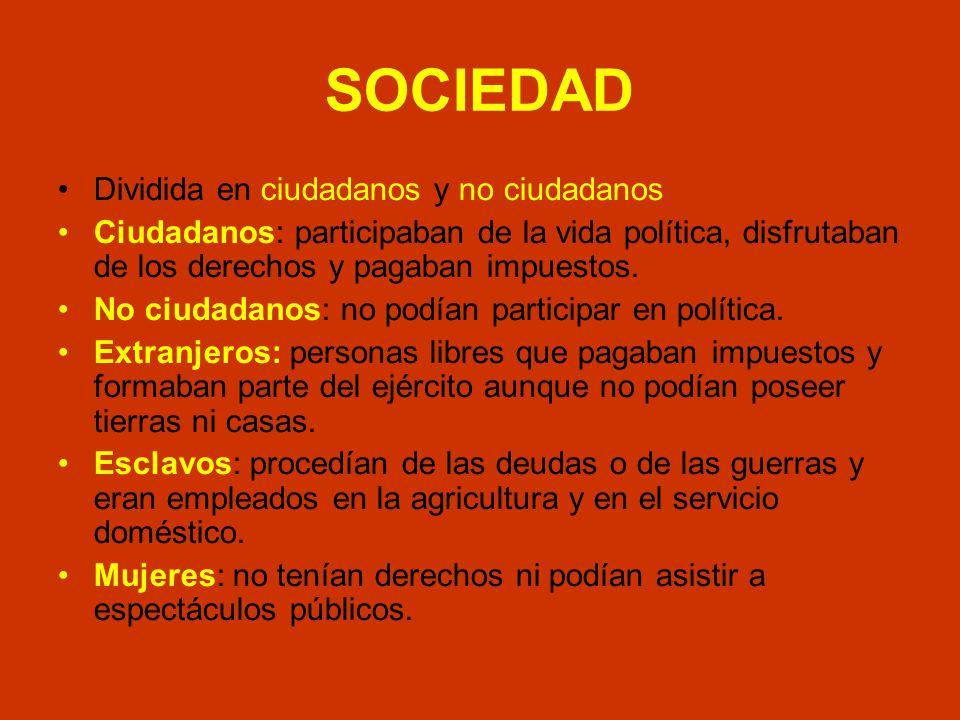 SOCIEDAD Dividida en ciudadanos y no ciudadanos