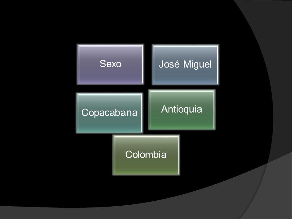 Sexo José Miguel Copacabana Antioquia Colombia