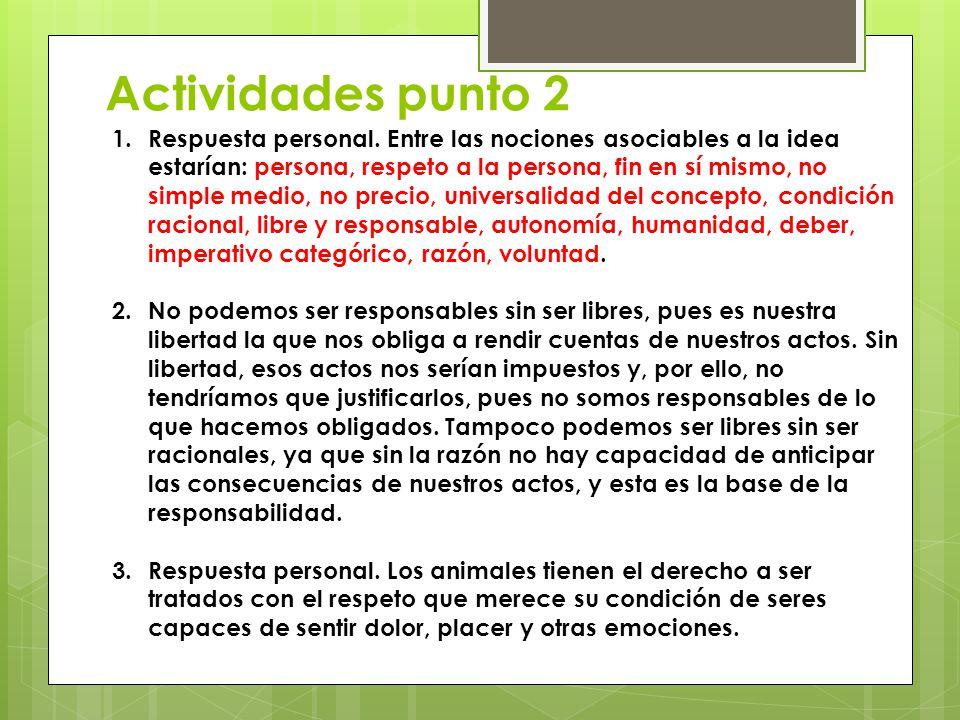 Actividades punto 2