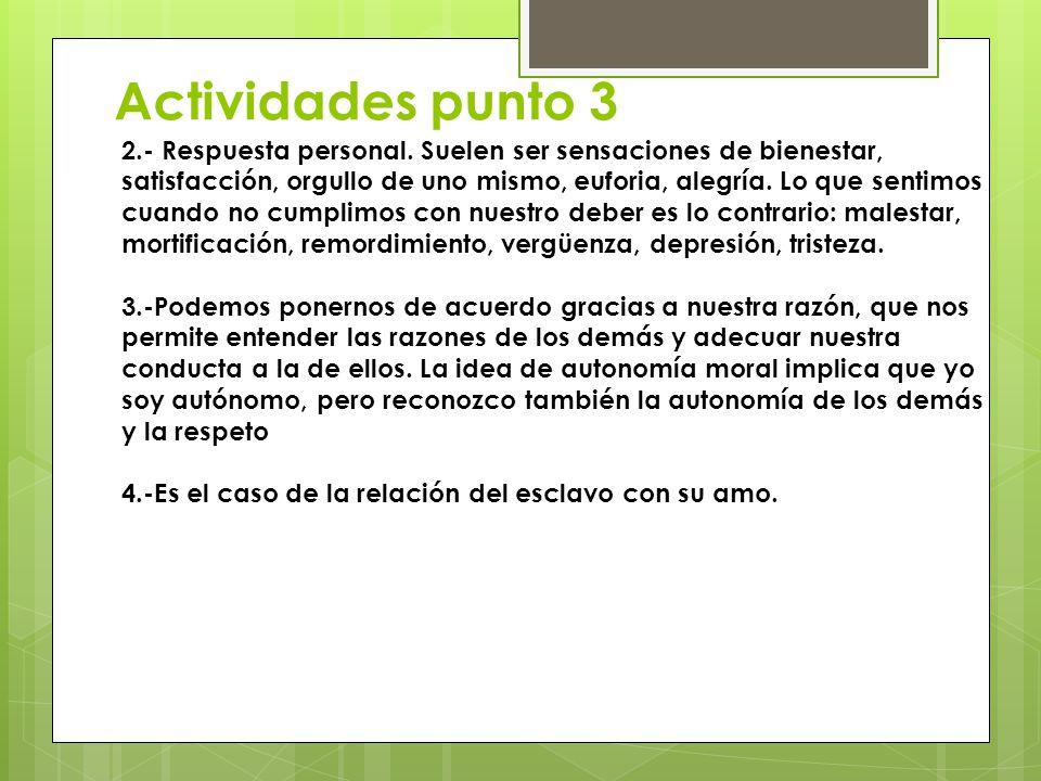 Actividades punto 3