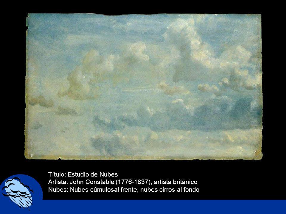 Título: Estudio de Nubes