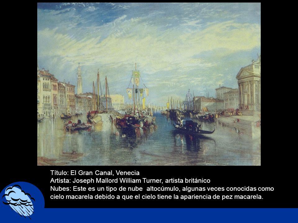 Título: El Gran Canal, Venecia