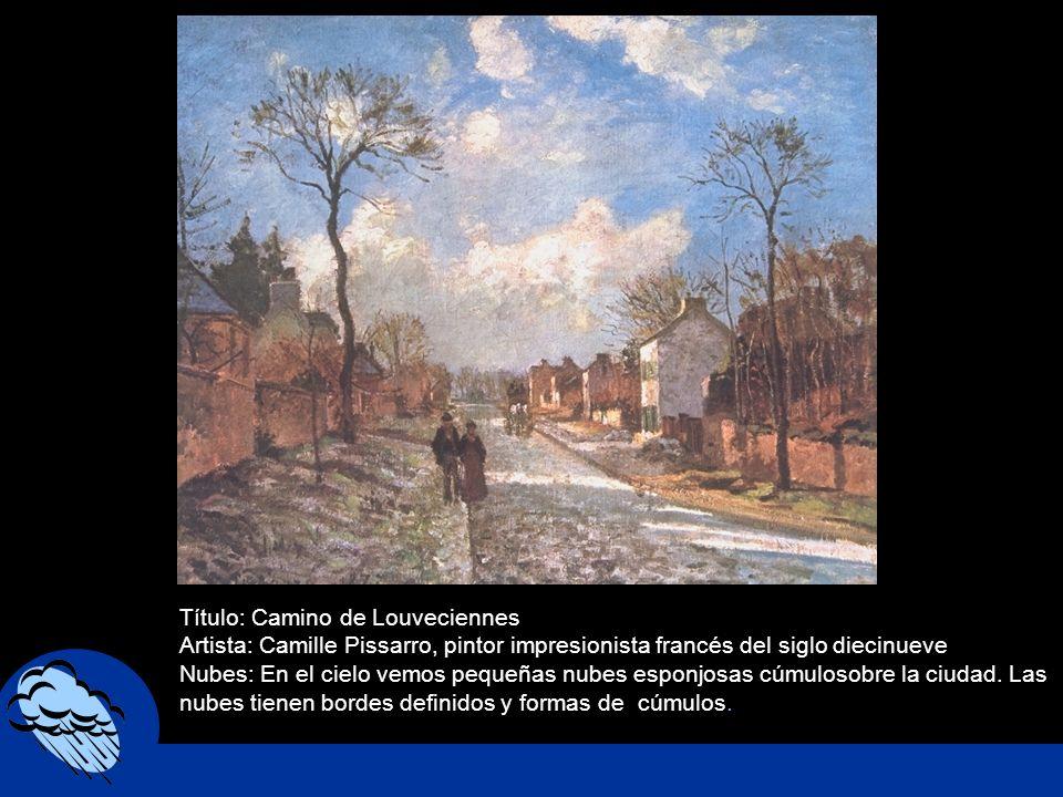 Título: Camino de Louveciennes