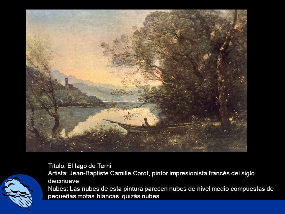 Título: El lago de Terni