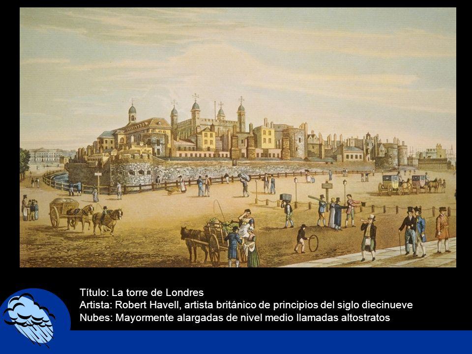 Título: La torre de Londres