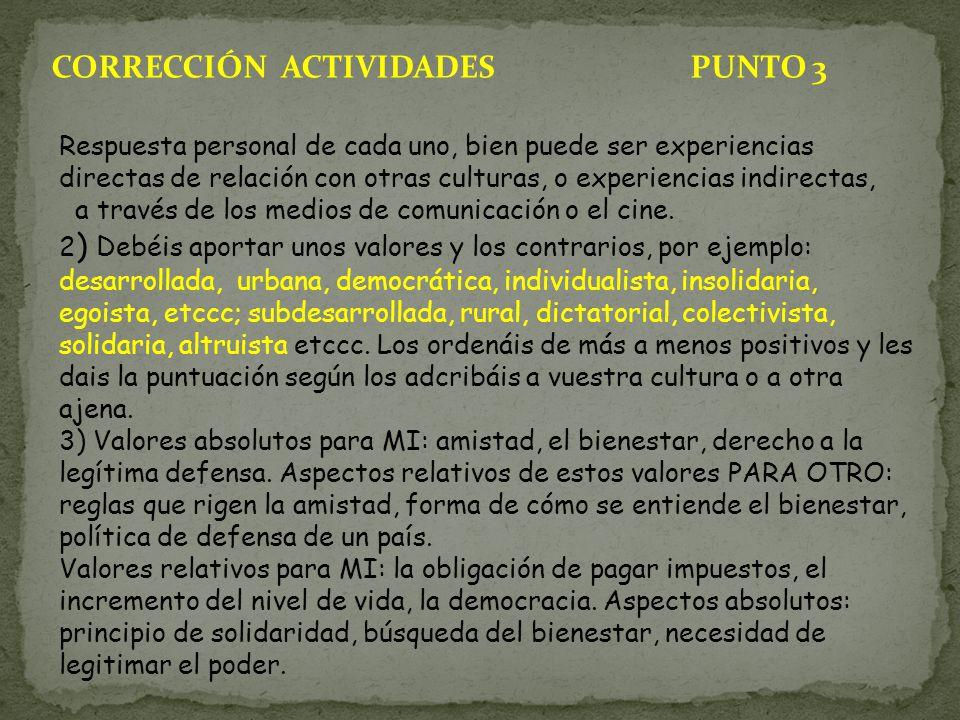 CORRECCIÓN ACTIVIDADES PUNTO 3