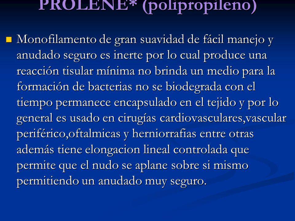 PROLENE* (polipropileno)