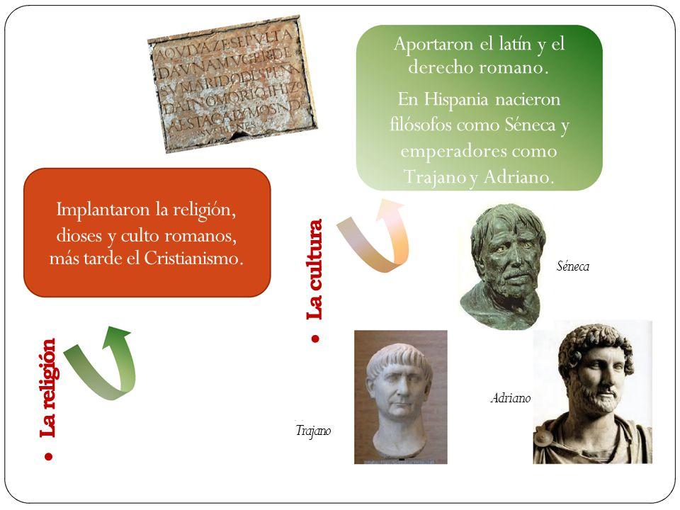 filósofos como Séneca y emperadores como Trajano y Adriano.